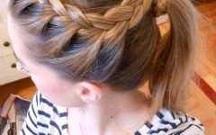 Angular Crown Braided Hairstyles