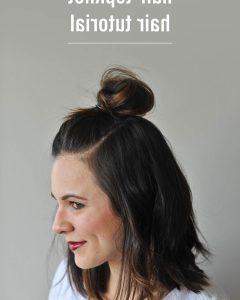 Decorative Topknot Hairstyles