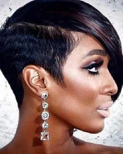 Sexy Black Short Hairstyles