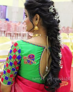 Braid Hairstyles For Reception