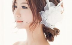 Korean Wedding Hairstyles for Long Hair