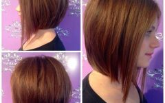 Inverted Bob Hairstyles for Round Faces