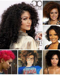 Medium Haircuts For Black Curly Hair