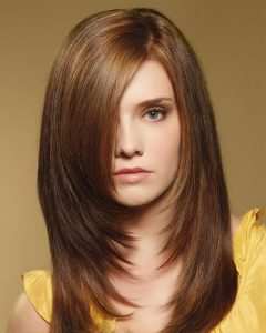 Long Hairstyles Shaped Around Face