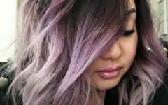 Ravishing Smoky Purple Ombre Hairstyles