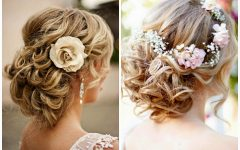 Messy Updos Wedding Hairstyles