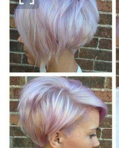 Lavender Pixie-Bob Haircuts