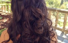 Half Up Wedding Hairstyles Long Curly Hair