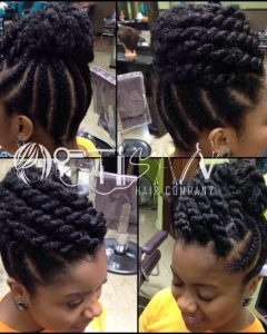 Urban Updo Hairstyles