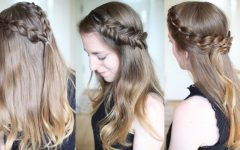 Down Braided Hairstyles