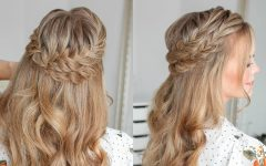 Double Half-up Mermaid Braid Hairstyles