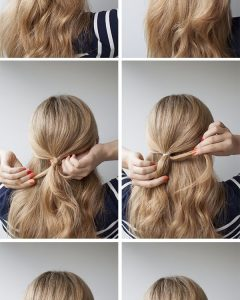 Romantic Half Pony Hairstyles