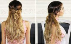 Half-up Half-down Boho Braided Hairstyles