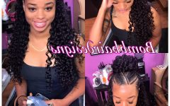 Half Up Buns Yarn Braid Hairstyles