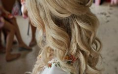 Half Up Wedding Hairstyles for Bridesmaids