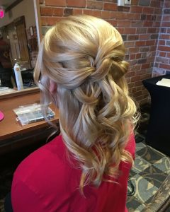 Mother Of The Bride Half Updo Hairstyles