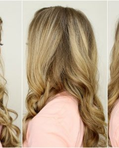 French Braid Hairstyles With Curls