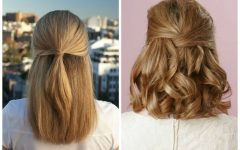 Half Updo Hairstyles for Medium Length Hair