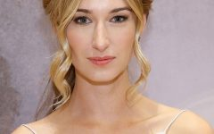 Halo Braid Hairstyles With Long Tendrils