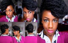 Marley Twist Updo Hairstyles