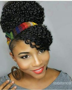 Hairstyles with Fringes, End Curls and Headband