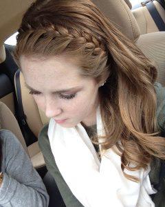 Full Headband Braid Hairstyles