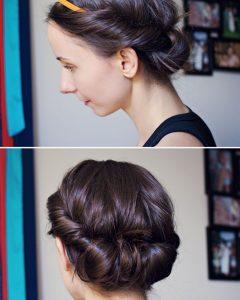 Cute Medium Hairstyles with Headbands