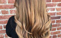 Natural-looking Dark Blonde Balayage Hairstyles