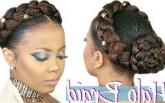 Halo Braided Hairstyles