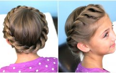 Spirals Rolled Braided Updo