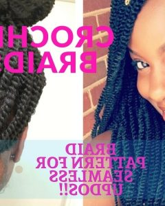 Crochet Braid Pattern For Updo Hairstyles
