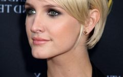 Ashlee Simpson Short Hairstyles