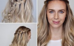 High Waterfall Braided Hairstyles