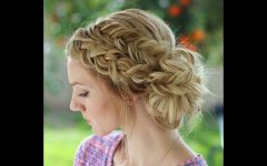 Formal Dutch Fishtail Prom Updos