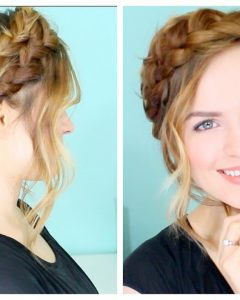 Crowned Braid Crown Hairstyles