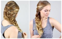 Mermaid Braid Hairstyles with a Fishtail