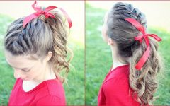 Braid into Pony Hairstyles