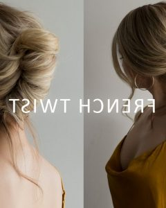 French Roll Prom Hairstyles
