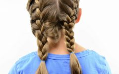 Double Loose French Braids