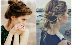Loose Bun Updo Hairstyles