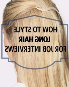 Long Hairstyles Job Interview