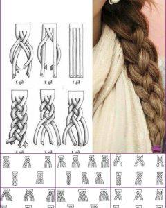 Loose 4-strand Rope Braid Hairstyles
