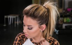 Mature Poofy Ponytail Hairstyles