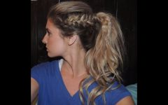 Long Ponytails with Side Braid