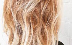 Strawberry Blonde Medium Hairstyles
