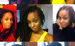 Yarn Braid Hairstyles Over Dreadlocks