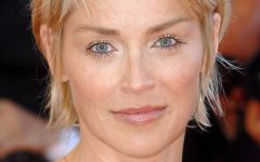 Sharon Stone Medium Haircuts