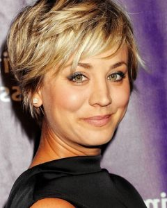 Feathered Pixie Hairstyles For Thin Hair