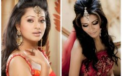 Medium Hairstyles for Indian Wedding