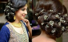 Wedding Reception Hairstyles for Long Hair
